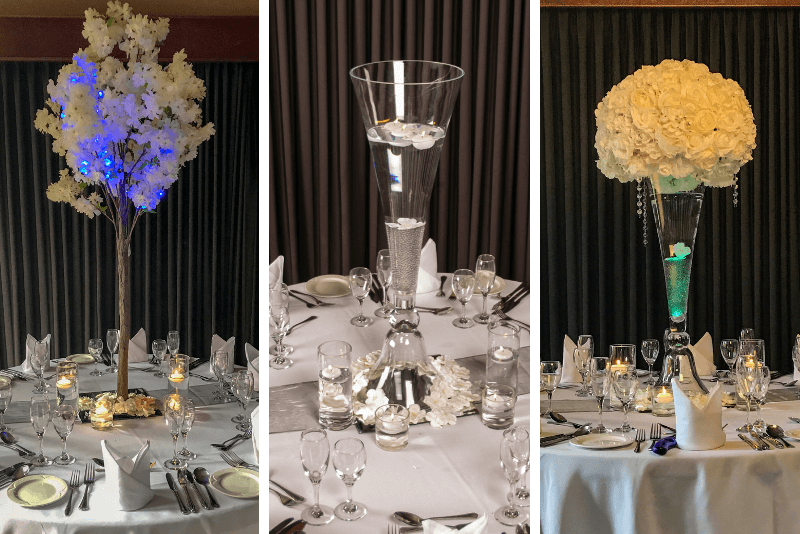 Centre Pieces - White House Weddings & Events