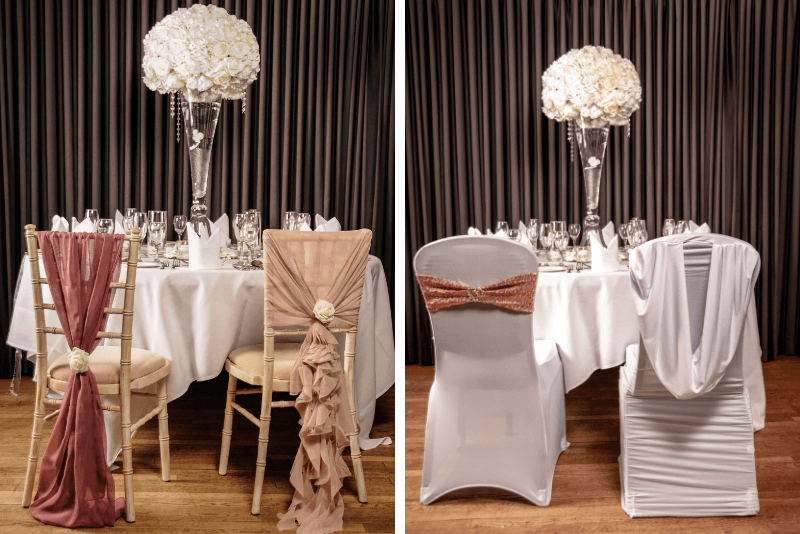 Chairs Covers - White House Weddings & Events