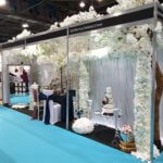 Ceremony decor set up - wedding show