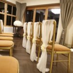 Chair Covers White - ribbon